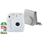Fujifilm Instax MINI 9 Blanc + Housse + Films