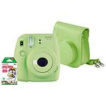 Fujifilm Instax MINI 9 Vert + Housse + Films