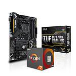 AMD Ryzen 7 2700X + Asus TUF X470-PLUS GAMING