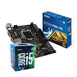 Intel Core i5-7500 + MSI B250M PRO-VD