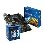 Intel Core i3-7100 + MSI B250M PRO-VD