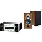 Marantz MCR611 N1W  Melody Stream, Radio internet, WiFi + Cabasse Antigua MT32 Noyer