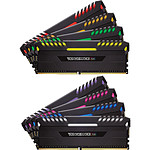 Corsair Vengeance RGB DDR4 8 x 8 Go 3200 MHz CAS 16