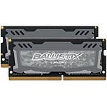 Ballistix SO-DIMM Sport LT DDR4 2 x 16 Go 2666 MHz