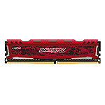 Ballistix Sport LT RED DDR4 8 Go 2666 MHz CAS 16 SR