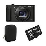 Sony DSC-HX99 + Carte microSD Verbatim 32 GO + Etui Cullmann Lagos Compact 300