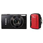 Canon Ixus 285 HS Noir + Lowepro Tahoe 15 II Rouge