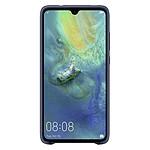 Huawei Coque silicone (bleu) - Huawei Mate 20