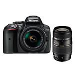 Nikon D5300 + AF-P 18-55MM F/3.5-5.6G VR + Tamron AF 70-300mm F/4-5,6 Di LD MACRO 1:2