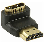 NEDIS Adaptateur HDMI mâle / HDMI femelle (coudé 90°)