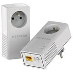 Netgear PLP1000 - Pack de 2 CPL 1000 (prise intégrée)