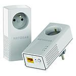 Netgear PLP1200 - Pack de 2 CPL 1200+ (prise intégrée)