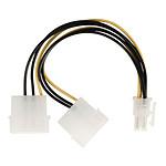 NEDIS Adaptateur d'alimentation 2x Molex vers PCI-E 6 Broches