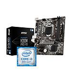 Intel Core i3-8100 + MSI H310M PRO-VD