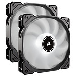 Corsair Air Series AF140 Low Noise - Blanc (Pack de 2)