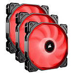 Corsair Air Series AF120 Low Noise - Rouge (Pack de 3)