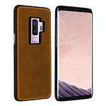 Akashi Coque cuir (marron) - Samsung Galaxy S9 Plus