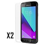 Akashi Verre trempé (9H) (x2) - Samsung Galaxy Xcover 4