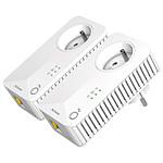 Strong Powerline Kit CPL 500 - Pack de 2 CPL 500 (prise intégrée)