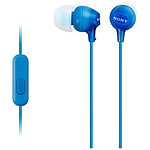 Sony MDR-EX15AP Bleu