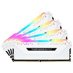 Corsair Vengeance RGB PRO DDR4 4 x 16 Go 3000 MHz CAS 15 Blanche
