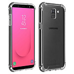 Akashi Coque angles renforcés (transparent) - Samsung Galaxy J6