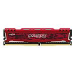Ballistix Sport LT DDR4 1 x 8 Go 3200 MHz CAS 15 SR Rouge