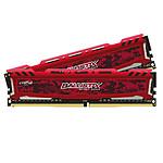 Ballistix Sport LT DDR4 2 x 8 Go 3200 MHz CAS 16 SR Rouge