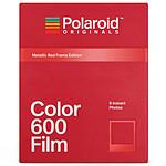 Polaroid Color 600 Film (cadre rouge)