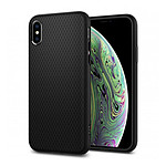 Spigen Coque Liquid Air (noir) - iPhone XS - iPhone X