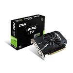 MSI GeForce GTX 1050 AERO ITX OCV1 - 2 Go