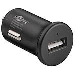 Chargeur rapide USB 2.4A sur prise allume-cigare (noir)