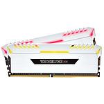 Corsair Vengeance White RGB DDR4 2 x 8 Go 3200 MHz CAS 18