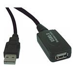 Rallonge USB 2.0 active (mâle/femelle) avec amplificateur et répéteur (10 mètres)