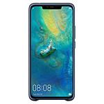 Huawei Coque silicone (bleu) - Huawei Mate 20 Pro