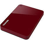 Toshiba Canvio Advance 3 To - Rouge
