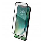 xqisit Verre trempé Tough Glass E2E (noir) - iPhone XS Max