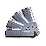 G.Skill Trident Z Silver / White DDR4 4 x 8 Go 4133 MHz CL19
