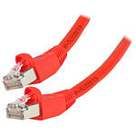 Câble RJ45 catégorie 6 S/FTP 0.5 m (Rouge)