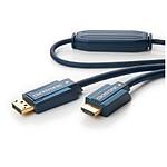 Clicktronic câble DisplayPort / HDMI (2 mètres)