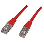 Câble RJ45 catégorie 5e U/UTP 0.3 m (Rouge)