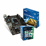 Intel Core i5-7400 + MSI B250M PRO-VD
