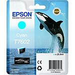Epson Cyan clair T7605
