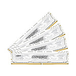 Ballistix Sport LT White DDR4 4  x 8 Go 2666 MHz CAS 16 DR