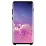 Samsung Coque silicone (noir) - Samsung Galaxy S10+
