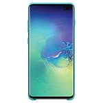 Samsung Coque silicone (vert) - Samsung Galaxy S10+