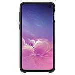 Samsung Coque cuir (noir) - Samsung Galaxy S10E