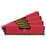 Corsair Vengeance LPX Red DDR4 4 x 8 Go 3000 MHz CAS 15