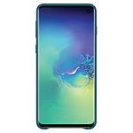 Samsung Coque cuir (vert) - Samsung Galaxy S10