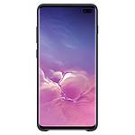 Samsung Coque cuir (noir) - Samsung Galaxy S10+